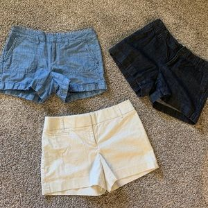 Set of 3 Loft shorts